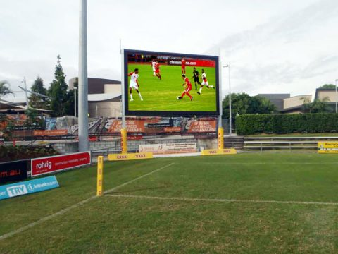 Football field LED display