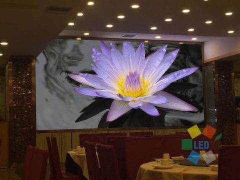 P4mm LED display