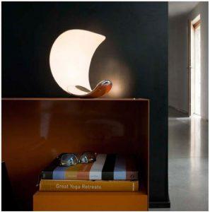 curved LED desk lamp