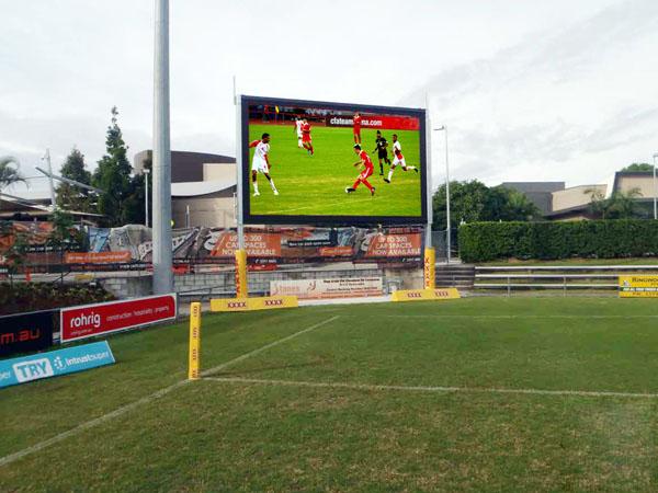 Football field LED display