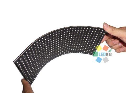 Soft LED screen module